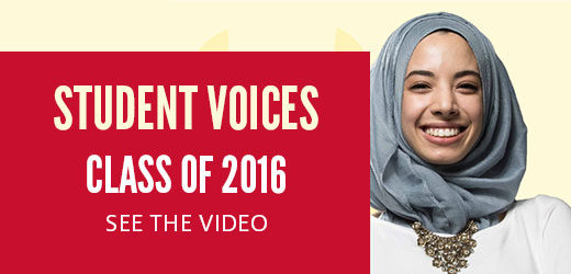 Student Voices - Class of 2016