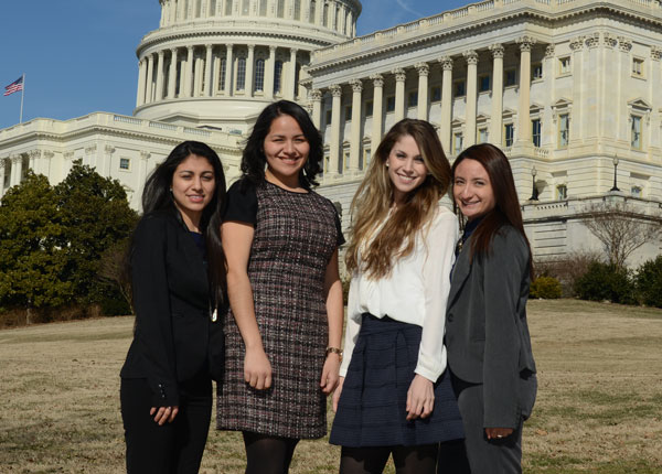 leland fellows at the capitol